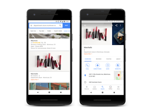 Google Maps takes on Facebook Pages with new 'Follow' feature for tracking businesses – TechCrunch