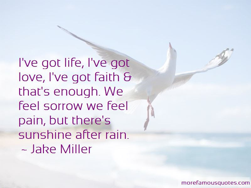 Quotes About Sunshine After Rain Top 6 Sunshine After Rain Quotes