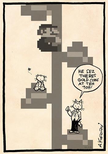 Laugh-Out-Loud Cats #2304 by Ape Lad