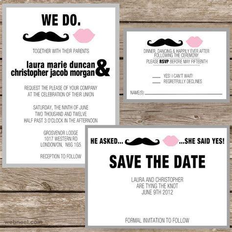 25 Creative and unusual Wedding Invitation Card Design