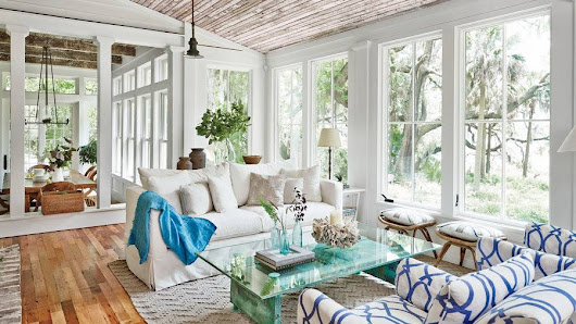 Tour a Southern Lowcountry Cottage - Design Chic