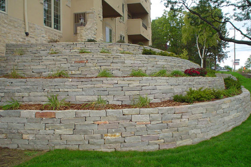 retaining walls natural stone chilton 1
