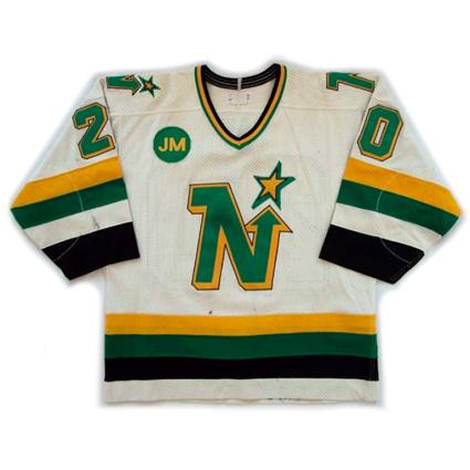 Minnesota North Stars 87-88 jersey