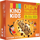 Kind Kids Granola Bars, Chewy Peanut Butter Chocolate Chip - 6 pack, 0.81 oz bars