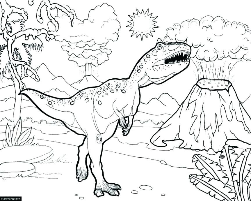 Jurassic Coloring Pages At Getcoloringscom Free Printable