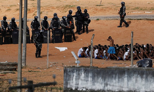 About hundred inmates escape after deadly Brazil prison riot | daily sun