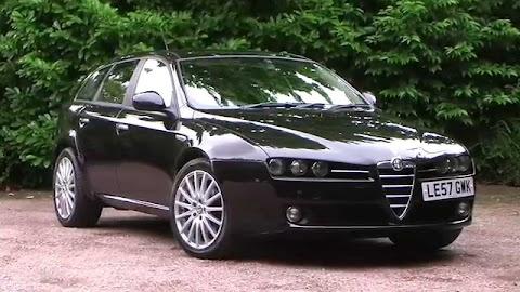 Alfa Romeo 159 Black Wheels