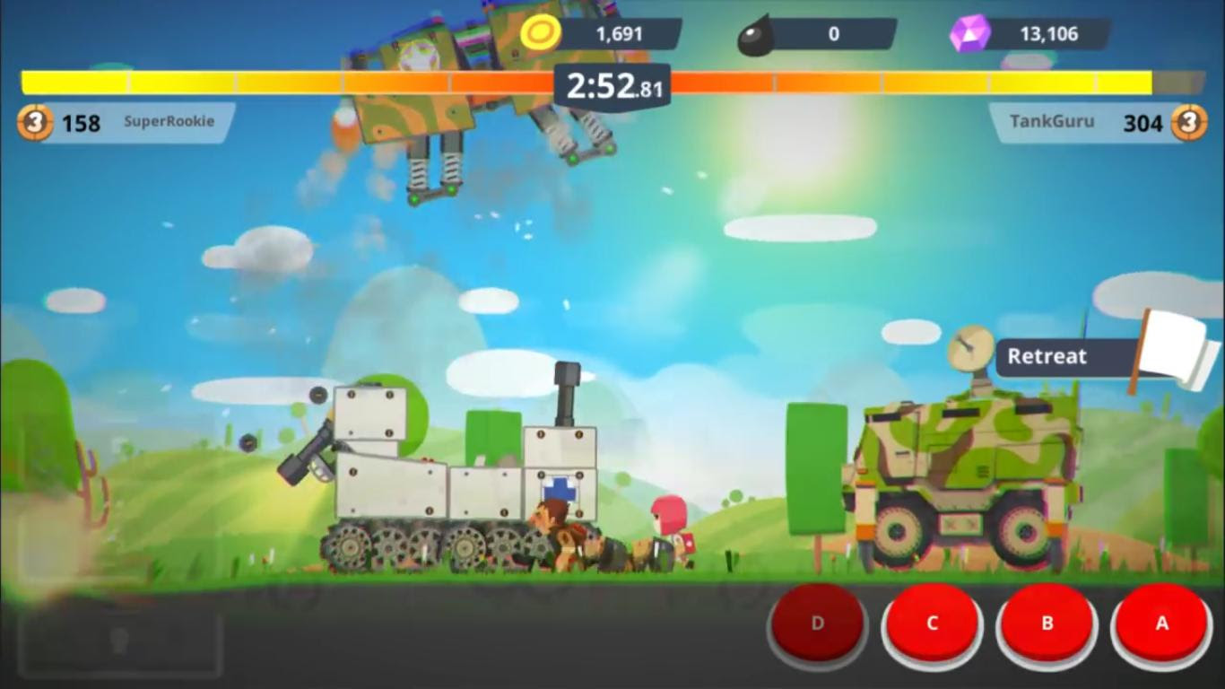thủ thuật hay trong game Super Tank Rumble online