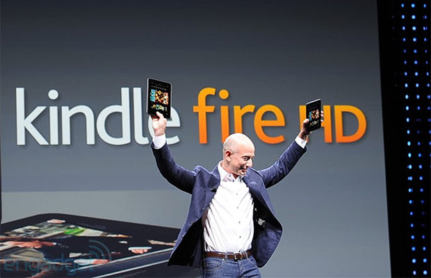 Bezos: Amazon breaks even on Kindle devices, not trying to make money on hardware