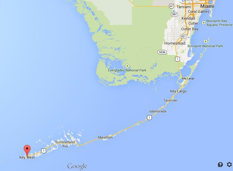 Map Western Florida.Map Of Florida Key West Map Of Us Western States