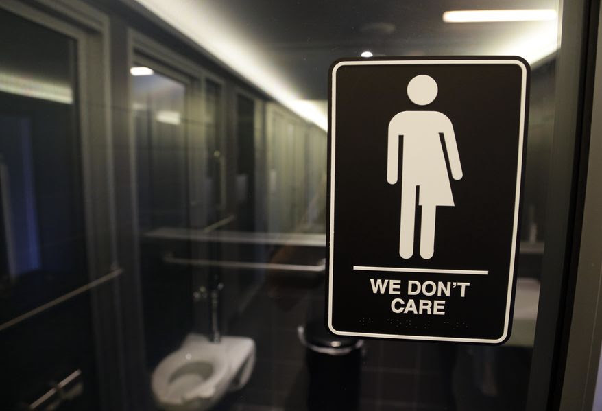 An Associated Press determined that a much-publicized boycott over North Carolina's transgender bathroom law would cost the state $3.76 billion over the next 12 years, but it's not entirely clear that HB2 was the sole factor driving out companies. (Associated Press/File)