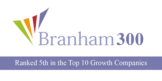 Powered by Search Ranked 5th in the Top 10 Growth Companies