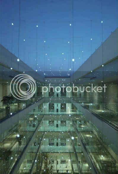 Blur Hotel courtyard view 1