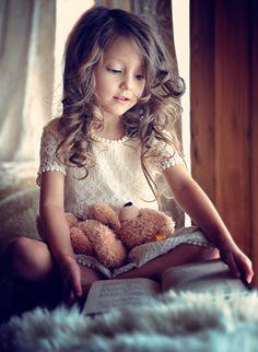 Little girl   Teddy Bear