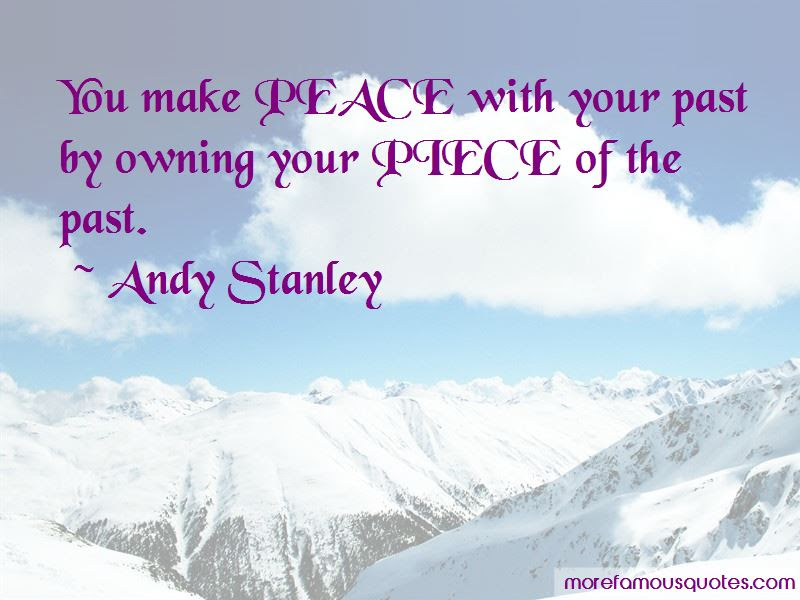 Make Peace With Past Quotes Top 20 Quotes About Make Peace With