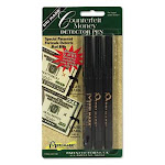 Dri-Mark Products 3513B1 Smart Money Counterfeit Bill Detector Pen for Use w/U.S. Currency 3/Pack