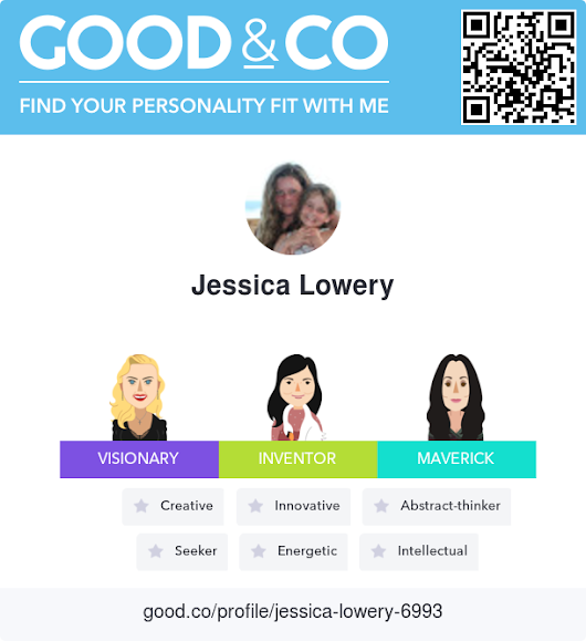 Good&Co profile for Jessica Lowery