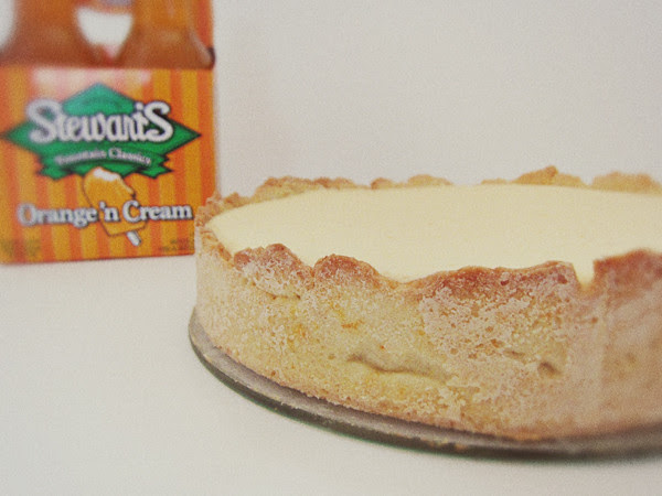orange creamsicle tart
