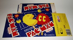 Pac Man Ice Cream box