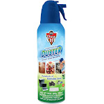 Dust Off Compressed Gas Duster Instant Dust Remover - 10 fl oz bottle