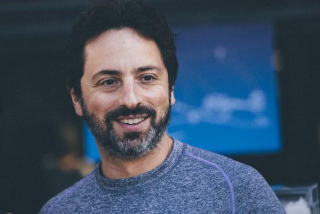 Dans la vidéo,Sergueï Brin, cofondateur de Google, d'autres... (photo james Martin, CNET, via siècle digital)