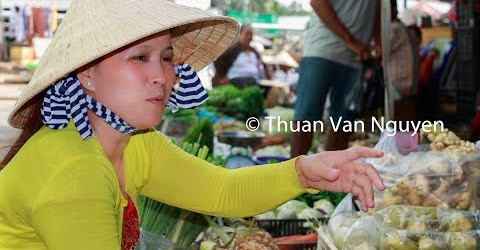 Vietnam || Nga Bay Village Market || Hau Giang Province