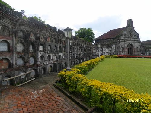Nagcarlan underground cemetery grounds