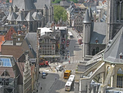 Travel Europe - Places of Interest in Ghent Belgium