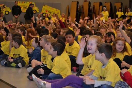 School shows big 'Love' for the bus - School Bus Fleet