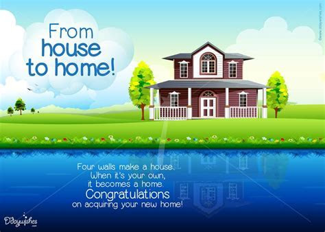 Free Online Congratulations E Cards for New Home   Online