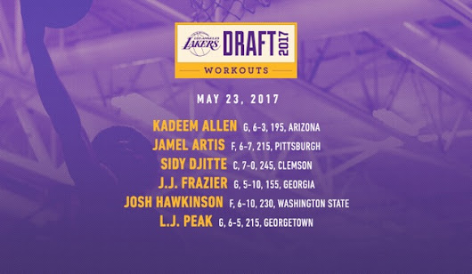 2017 Draft Workouts (5/23) | Los Angeles Lakers