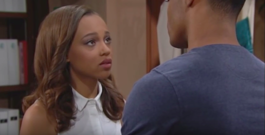 'The Bold and the Beautiful' Spoilers: Julius Rushes to Nicole's Side, Wants Insemination Called Off – Nicole and Maya Share Heartfelt Moment | Soap Opera Spy