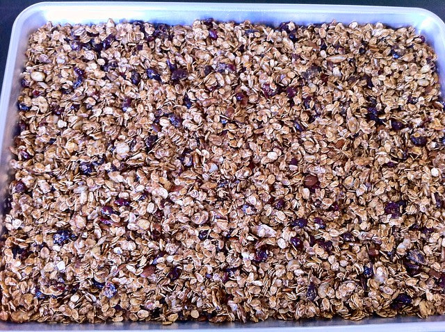 Granola Before Baking