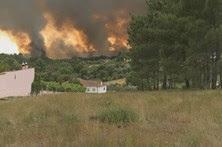Resultado de imagem para Dez incêndios em curso em Portugal continental às 16h30