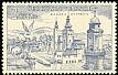 Common Kestrel Falco tinnunculus  1955 Cities, airmail 5v set