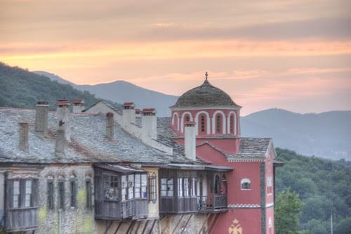 Philotheou Monastery, Mt. Athos