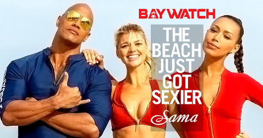 Sama Eyewear Rides the Wave -- Crashing the Big Screen in BAYWATCH  🌊