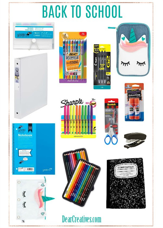Back to School Supplies and Tips To Start The School Year Right!