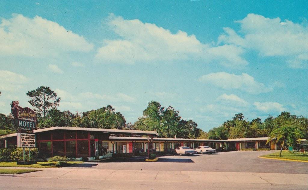 The cardboard america motel archive golden spur motel for Motor inn ocala fl