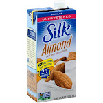 Silk Pure Unsweetened Almond Milk, Vanilla - 32 fl oz carton