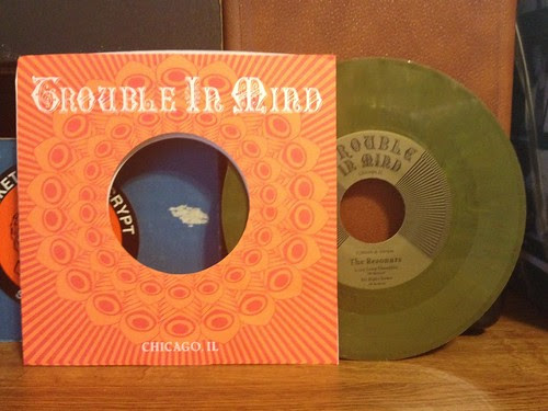 "The Resonars - Long Long Thoughts 7"" - Green Vinyl by Tim PopKid"