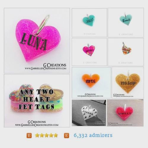 "SharePicVideo on Twitter: ""@G_Creations HEARTpetidtags from GabriellesCreations #etsy   """