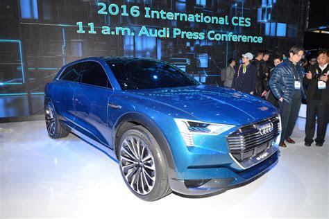 electric cars  follow audi  tron suv