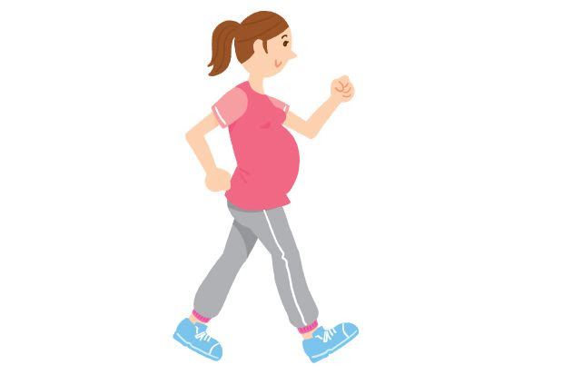 running while pregnant- thumbs up!