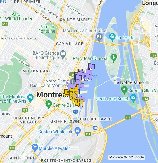 Old-Montreal Itinerary