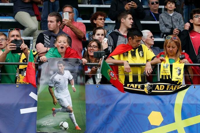 Treino Portugal Eurocopa (Foto: Reprodução/Facebook)