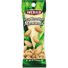 Emerald Dry Roasted Almonds, 1.5 oz. Tube Package, 12-Box