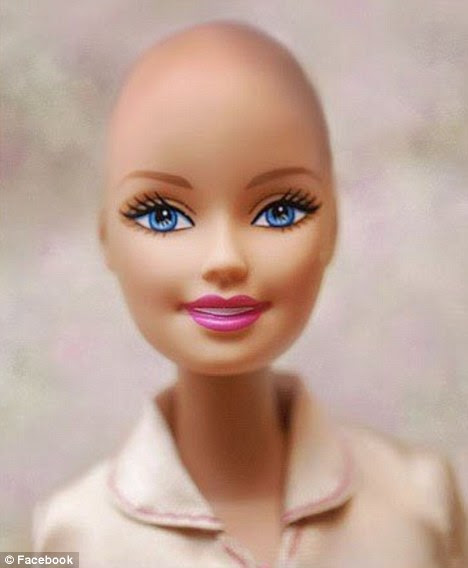 Barbie linda e Careca