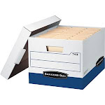 Fellowes Inc. Bankers Box Heavy Duty File Boxes - 10 pack