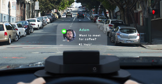 Navdy feels like driving in the future
